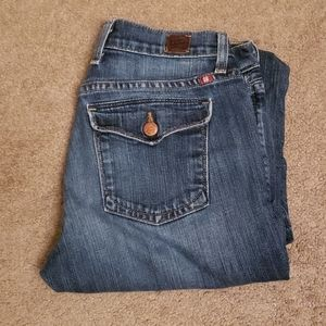 Lucky short inseam classic rider jeans